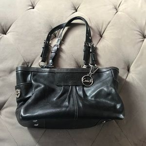 AUTHENTIC LEATHER COACH BAG